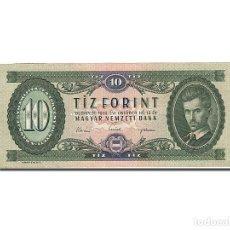 Billetes extranjeros: [#262801] BILLETE, 10 FORINT, 1957-1983, HUNGRÍA, KM:168C, 1962-10-12, EBC. Lote 271620483