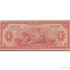 Billetes extranjeros: [#262700] BILLETE, 1 GULDEN, 1942-1947, CURAÇAO, KM:35B, 1947, BC. Lote 271620583
