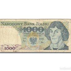 Billetes extranjeros: [#262991] BILLETE, 1000 ZLOTYCH, 1974-1976, POLONIA, KM:146C, 1982-06-01, BC. Lote 271620638