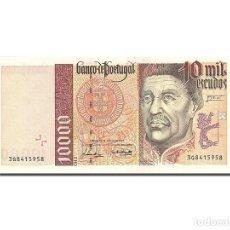 Billetes extranjeros: [#263007] BILLETE, 10,000 ESCUDOS, 1995-1997, PORTUGAL, KM:191B, 1997-07-10, UNC. Lote 271620653