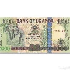 Billetes extranjeros: [#263081] BILLETE, 1000 SHILLINGS, 2008, UGANDA, 2008, UNC. Lote 271620698