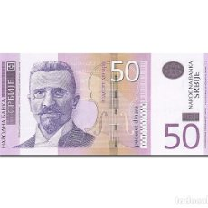 Billetes extranjeros: [#262903] BILLETE, 50 DINARA, 2003, SERBIA, KM:40A, 2005, UNC. Lote 271620713
