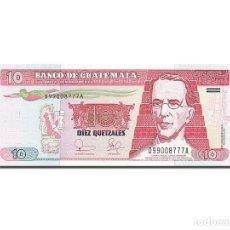 Billetes extranjeros: [#262918] BILLETE, 10 QUETZALES, 2003, GUATEMALA, KM:107, 2003-02-12, UNC. Lote 271620723