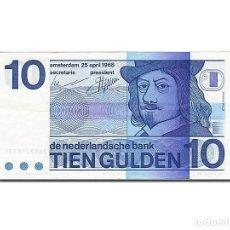 Billetes extranjeros: [#263013] BILLETE, 10 GULDEN, 1966-1972, PAÍSES BAJOS, KM:91B, 1968-04-25, EBC. Lote 271620788