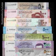 Banconote internazionali: SIRIA SET 50 100 200 500 1000 2000 5000 LIBRAS 2009 - 2021 PICK 112 - NUEVO SC UNC. Lote 290433368