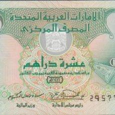 Billetes extranjeros: BILLETES - UNITED ARAB EMIRATES - 10 DIRHAMS 1995 - PICK-13B (SC). Lote 272493468