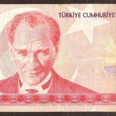 Billetes extranjeros: TURQUIA. 10 LIRAS NUEVAS 2005. PICK 218. SERIE B.. Lote 274252173