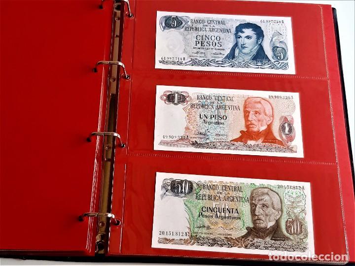 Billetes extranjeros: ALBUM CON 174 BILLETES ORIGINALES VARIOS DEL MUNDO - Foto 48 - 275096853