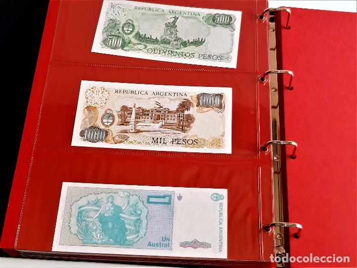 Billetes extranjeros: ALBUM CON 174 BILLETES ORIGINALES VARIOS DEL MUNDO - Foto 51 - 275096853