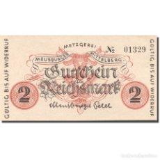 Billetes extranjeros: [#276816] BILLETE, ALEMANIA, MITTELBERG, 2 REICHSMARK, PERSONNAGE, 1945-1946, SC. Lote 277306333