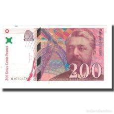 Billetes extranjeros: [#176047] FRANCIA, 200 FRANCS, EIFFEL, 1999, BRUNEEL, BONARDIN, VIGIER, EBC, FAYETTE:75.5. Lote 277308433