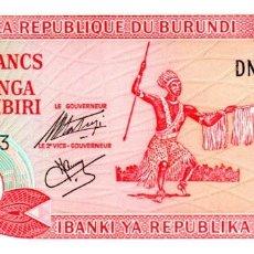 Billetes extranjeros: BILLETE DE BURUNDI DE 20 FRANCOS EN PERFECTO ESTADO. Lote 277420923