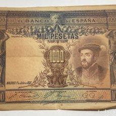 Billetes extranjeros: BILLETE ESPAÑOL 1000 PESETAS 1925. Lote 277443618