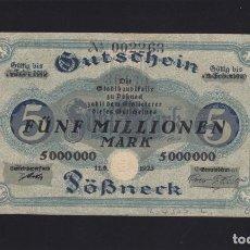 Billetes extranjeros: ALEMANIA - 5.000.0000 MARCOS DE 1923 - VER FOTO. Lote 287220228