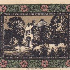 Billetes extranjeros: ALEMANIA - 50 PFENNIG DE 1921 - VER FOTO. Lote 287237388