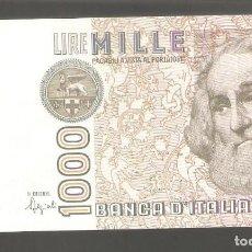 Billetes extranjeros: 1 BILLETE ITALIA - 1000 LIRAS - 6-1-1982 USADO COMO FOTO. Lote 287618883