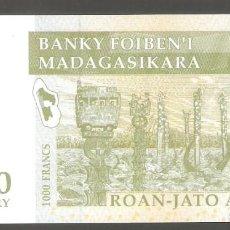 Billetes extranjeros: 1 BILLETE DE MADAGASCAR 200 ARIARY 2004 SC. Lote 287619873