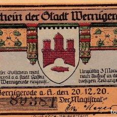 Billetes extranjeros: ALEMANIA - 25 PFENNIG DE 1920 - SIN CIRCULAR. Lote 287661933