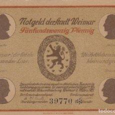 Billetes extranjeros: ALEMANIA - 25 PFENNIG DE 1921 - SIN CIRCULAR. Lote 287662158