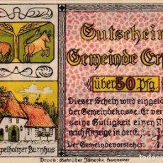 Billetes extranjeros: ALEMANIA - 50 PFENNIG DE 1921 - SIN CIRCULAR. Lote 287662268