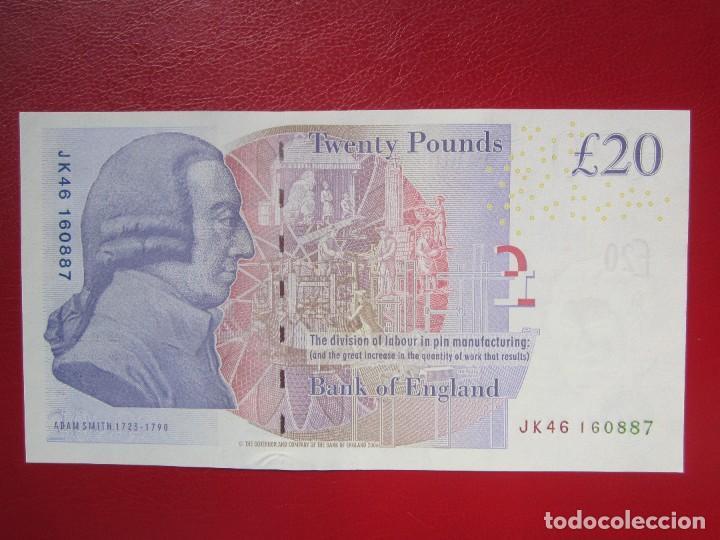Billetes extranjeros: BILLETES DE 20 LIBRAS 2006 PICK392A S/C - Foto 2 - 287677718