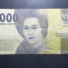 Billetes extranjeros: BILLETE DE 1000 RUPIHA INDONESIA. Lote 287803678