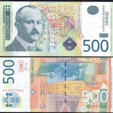 Billetes extranjeros: SERBIA 500 DINARA 2012 P 59B UNC. Lote 287903933