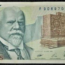 Billetes extranjeros: MEXICO 2000 PESOS 1989. PICK 86. Lote 288155123