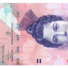 Billetes extranjeros: BILLETE DE VENEZUELA DE 20 BOLIVARES EN PERFECTO ESTADO. Lote 288650358