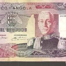 Billetes extranjeros: ANGOLA 1.000 ESCUDOS 24 NOVIEMBRE 1972. Lote 288651843