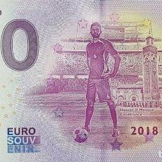 "Billetes extranjeros: BILLETE 0 EURO SOUVENIR 0 € ALEMANIA: XERU-23- FIFA 2018 MOROCCO ""HASSAN II MOSQUE, CASABLANCA"". Lote 288949593"