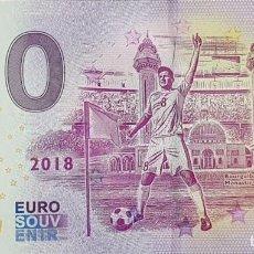 "Billetes extranjeros: BILLETE 0 EURO SOUVENIR 0 € ALEMANIA: XERU-31 FIFA 2018 TUNISIA ""BOURGUIBA MAUSOLEUM, MONASTIR"". Lote 288950193"