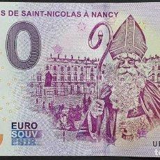 Billetes extranjeros: BILLETE 0 EURO SOUVENIR 0 € DE FRANCIA: UEFA 2018-2 LES FËTES DE SAINT-NICOLAS À NANCY. Lote 288951033