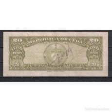 Billetes extranjeros: CUBA 1958 VEINTE PESO 20 PESO KM# VG. Lote 289940153