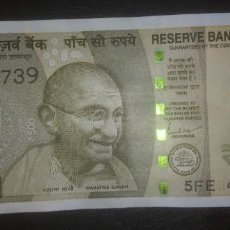 Billetes extranjeros: INDIA 500 RUPEES 2021 5FE 420739. Lote 290137853