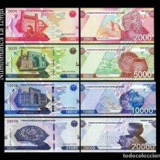 Banconote internazionali: UZBEKISTAN SET 2000 5000 10000 20000 SUM 2021 PICK NUEVO SC UNC. Lote 290436718
