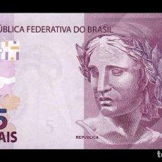 Banconote internazionali: BRASIL BRAZIL 5 REAIS 2010 PICK 253E SC UNC. Lote 290913543