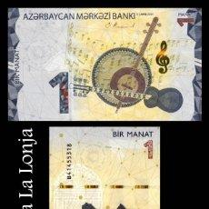 Banconote internazionali: AZERBAIYAN AZERBAIJAN 1 MANAT 2020 (2021) PICK NUEVO SC UNC. Lote 291161038