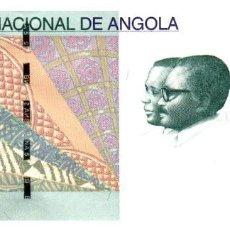 Billetes extranjeros: BILLETE DE ANGOLA DE 5 KWANZAS EN PERFECTO ESTADO. Lote 292509233