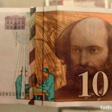 Banconote internazionali: FRANCIA FRANCE 100 FRANCS PAUL CÉZANNE 1998 PICK 158. Lote 294761193