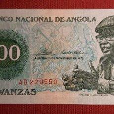Billetes extranjeros: 100 KWANZAS, ANGOLA. 1976. (PICK.111).. Lote 295334168