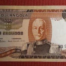 Billetes extranjeros: 100 ESCUDOS, ANGOLA. 1972. (PICK.101).. Lote 295334523