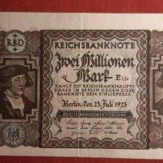 Billetes extranjeros: 2.000.000 MARCOS, ALEMANIA. 1923. (PICK.89A).. Lote 295336823
