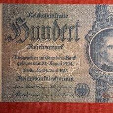 Billetes extranjeros: 100 MARCOS, ALEMANIA. 1935. (PICK.183A).. Lote 295342403