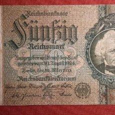 Billetes extranjeros: 50 MARCOS, ALEMANIA. 1933. (PICK.182).. Lote 295343738