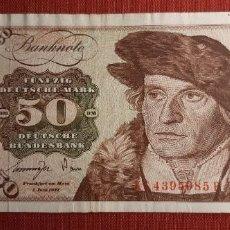 Billetes extranjeros: 50 MARCOS, ALEMANIA. 1977. (PICK.33B).. Lote 295344118