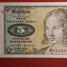 Billetes extranjeros: 5 MARCOS, ALEMANIA. 1970. (PICK.30A).. Lote 295346028