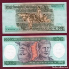 Billetes extranjeros: BRASIL : 200 CRUZEIROS.( 1981-84 ) SC.UNC. PK.199. Lote 295378713