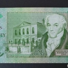 Billetes extranjeros: BILLETE GUERNSEY ORIGINAL %. Lote 295380748
