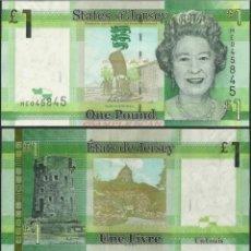 Billetes extranjeros: BILLETES DE JERSEY ORIGINAL %. Lote 295380788